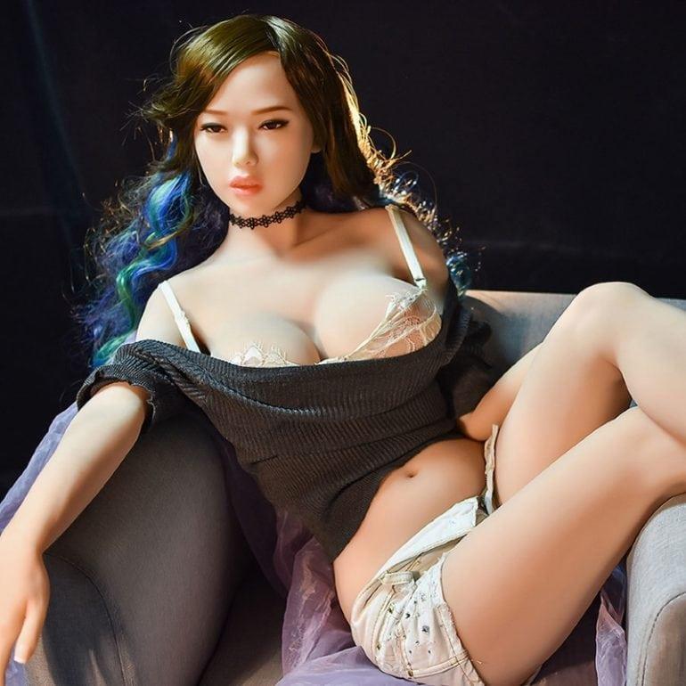 6YE Doll 165 cm F-Cup 2 élethű szexbaba