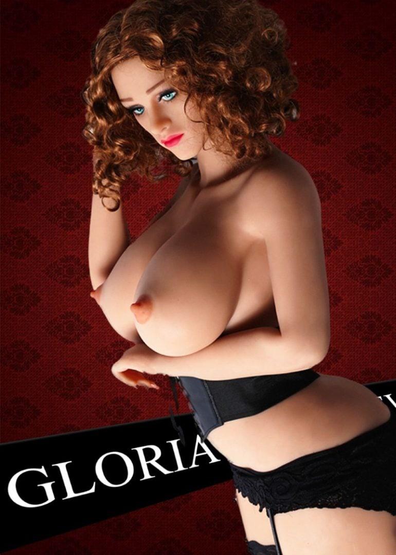Gloria 160 cm élethű szexbaba