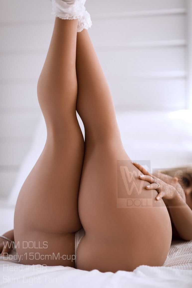 WM Doll 150 cm M-Cup 2 élethű szexbaba