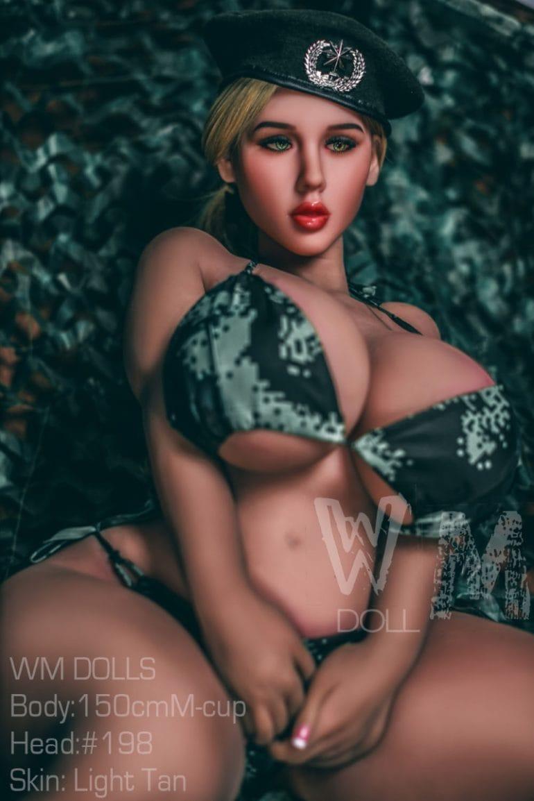 WM Doll 150 cm M-Cup 4 élethű szexbaba