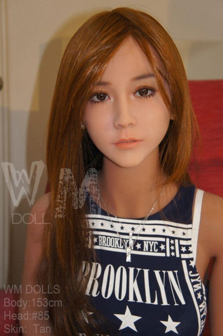 WM Doll 153 cm A-Cup élethű szexbaba