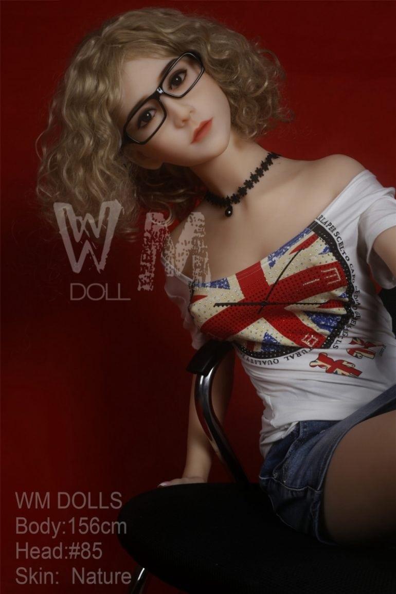 WM Doll 156 cm C-Cup 2 élethű szexbaba