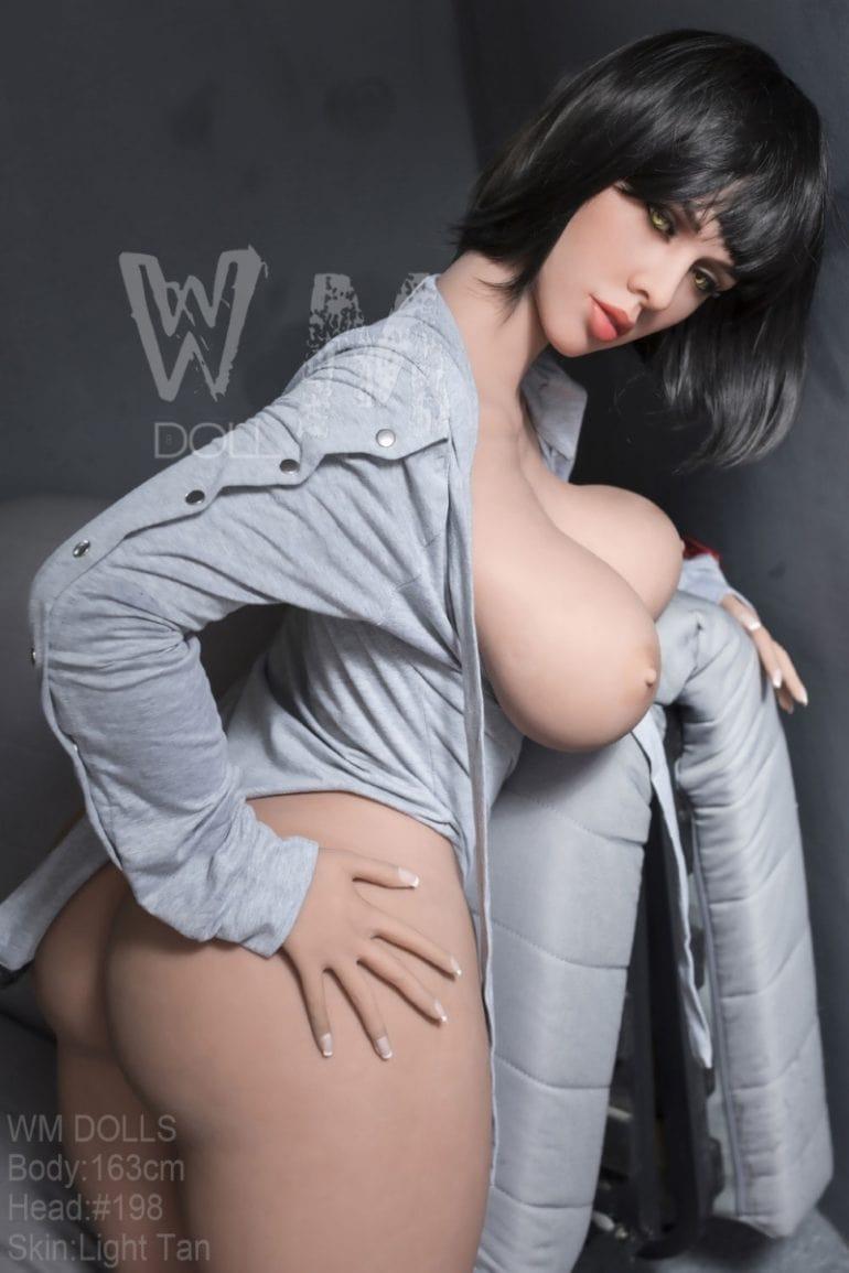 WM Doll 163 cm H-Cup élethű szexbaba
