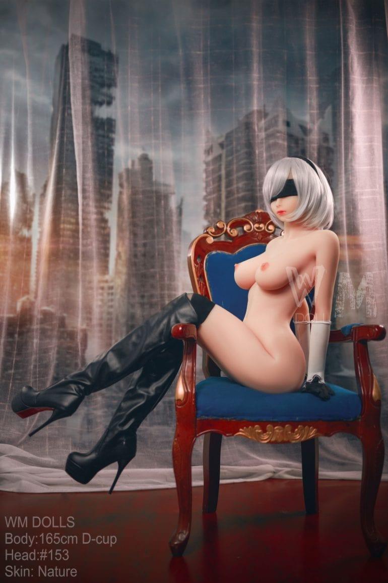 WM Doll 165 cm D-Cup 2 élethű szexbaba