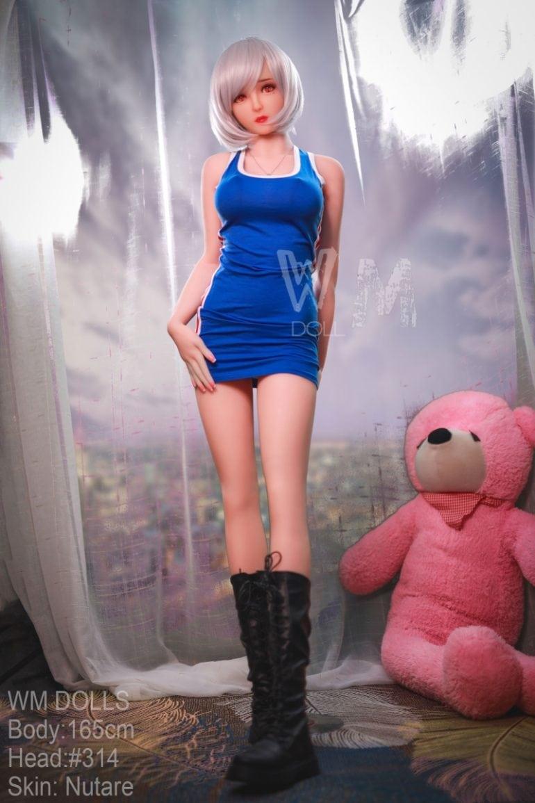 WM Doll 165 cm D-Cup 3 élethű szexbaba