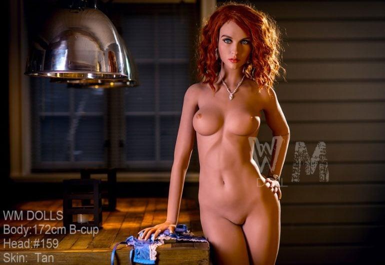 WM Doll 172 cm B-Cup élethű szexbaba