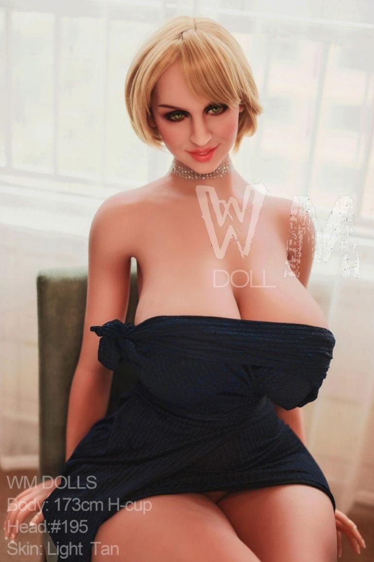 WM Doll 173 cm H-Cup 3 élethű szexbaba