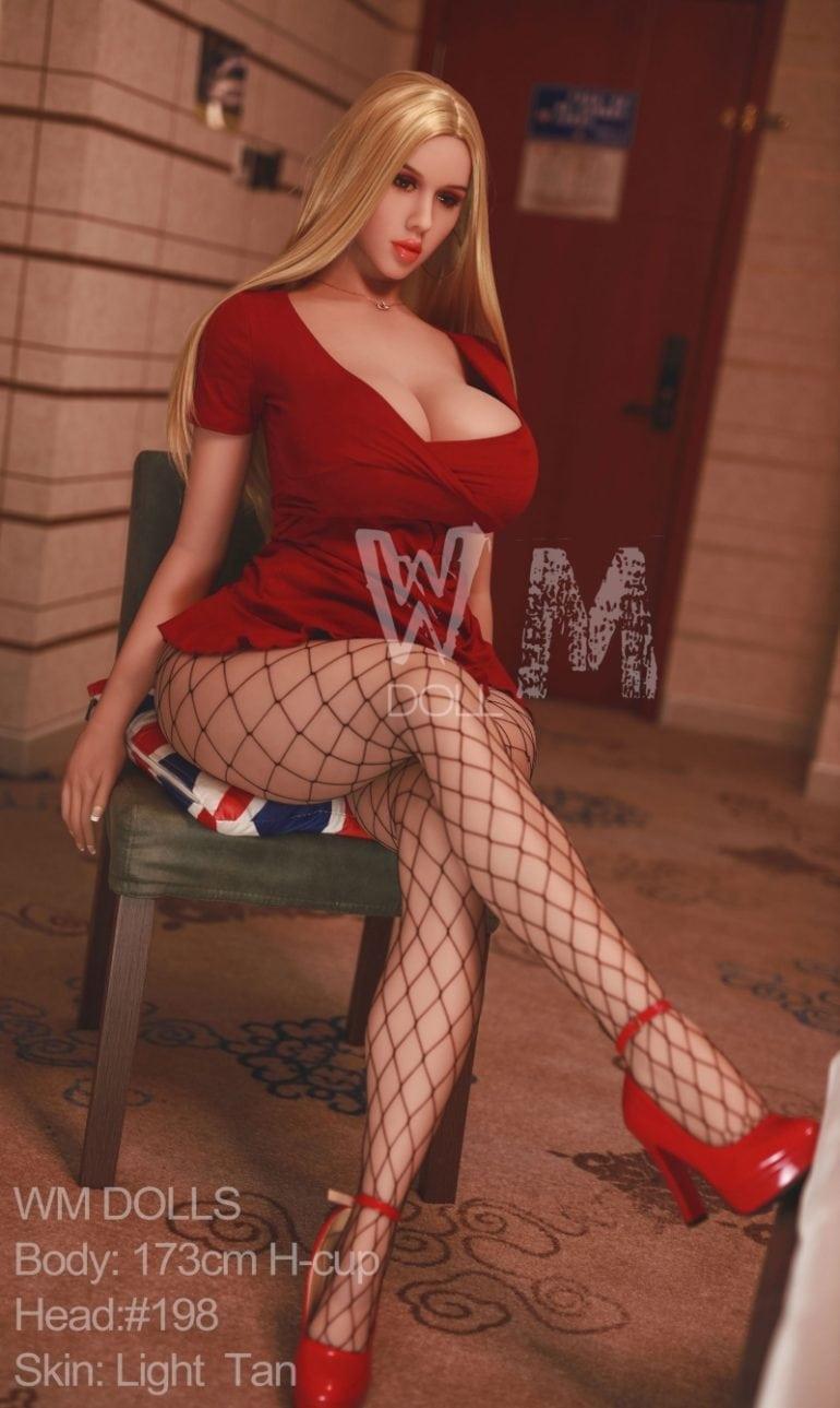 WM Doll 173 cm H-Cup 4 élethű szexbaba