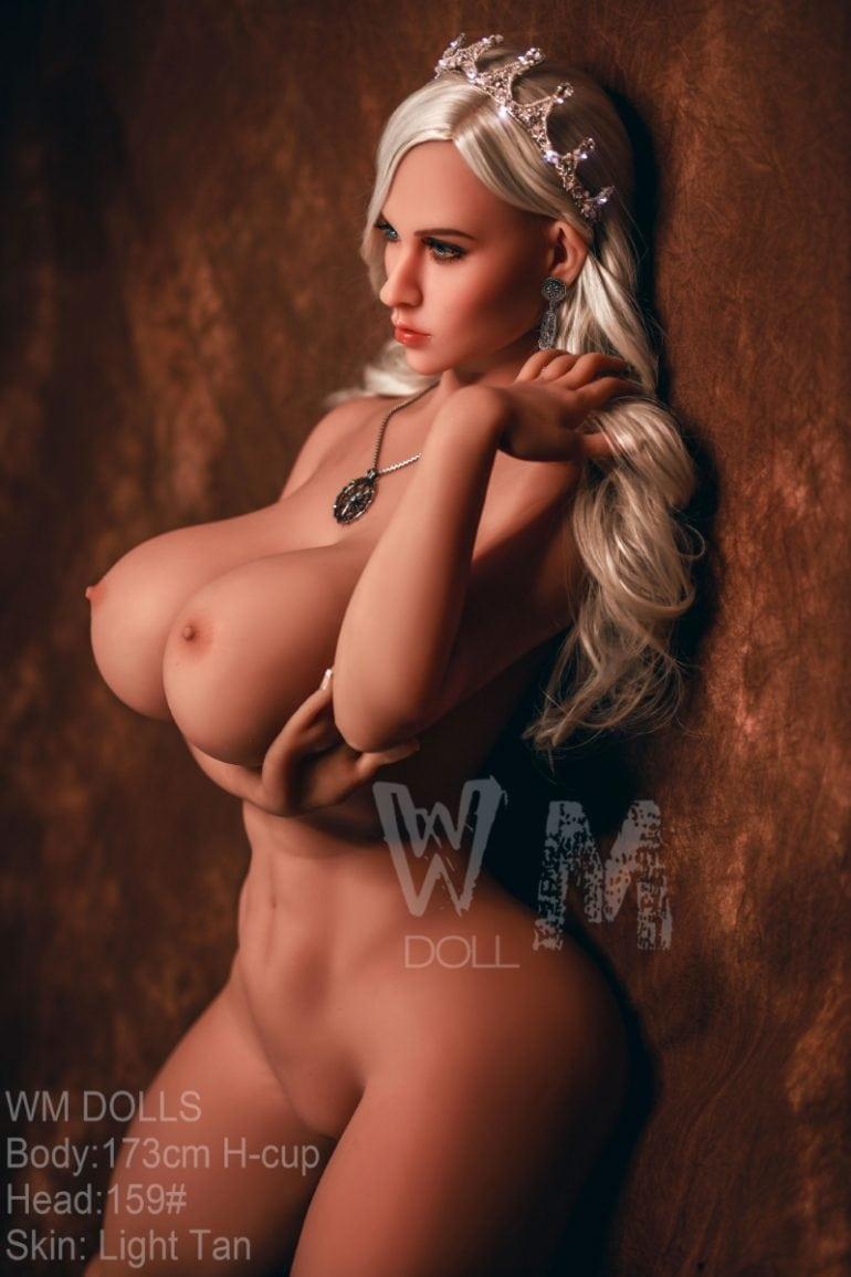 WM Doll 173 cm H-Cup élethű szexbaba