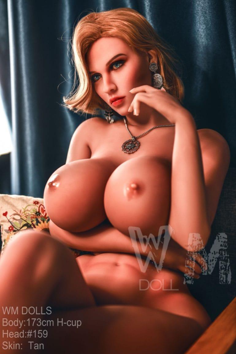 WM Doll 173 cm H-Cup 5 élethű szexbaba