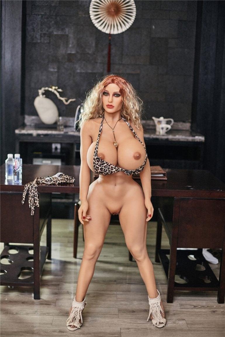 Irontech Doll 140 cm H-Cup 4 élethű szexbaba