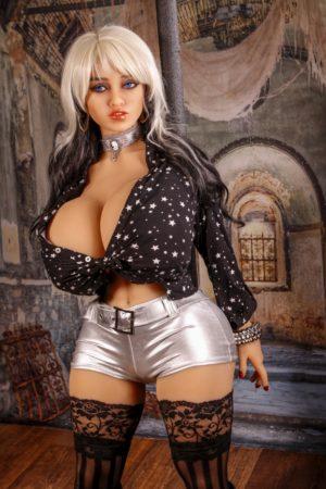 Irontech Doll 140 cm H-Cup 6 élethű szexbaba