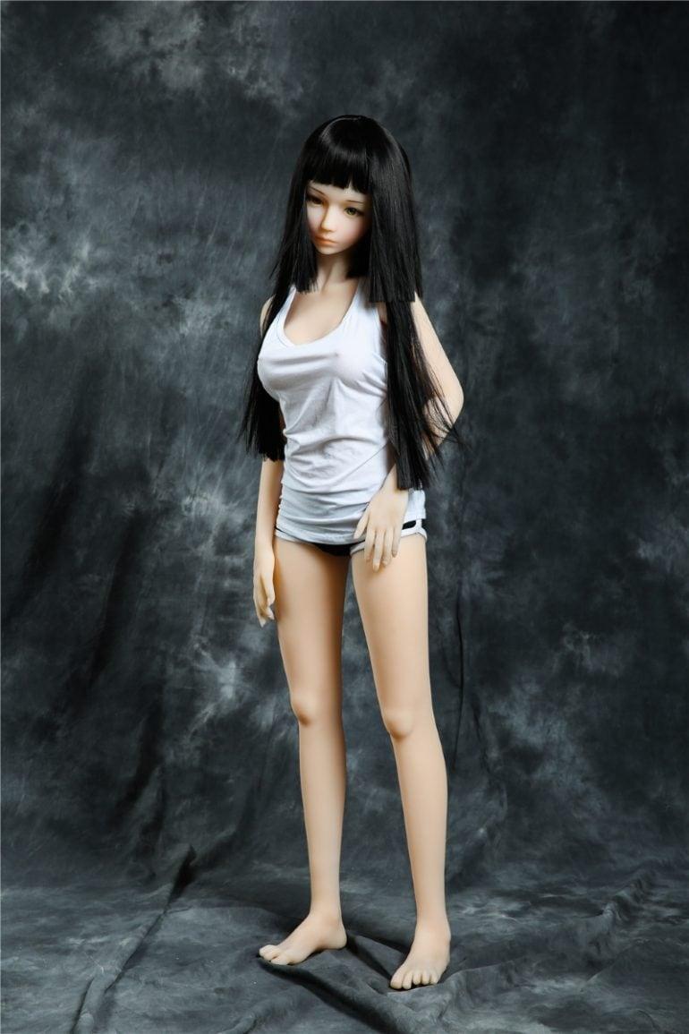 Irontech Doll 145 cm B-Cup 4 élethű szexbaba