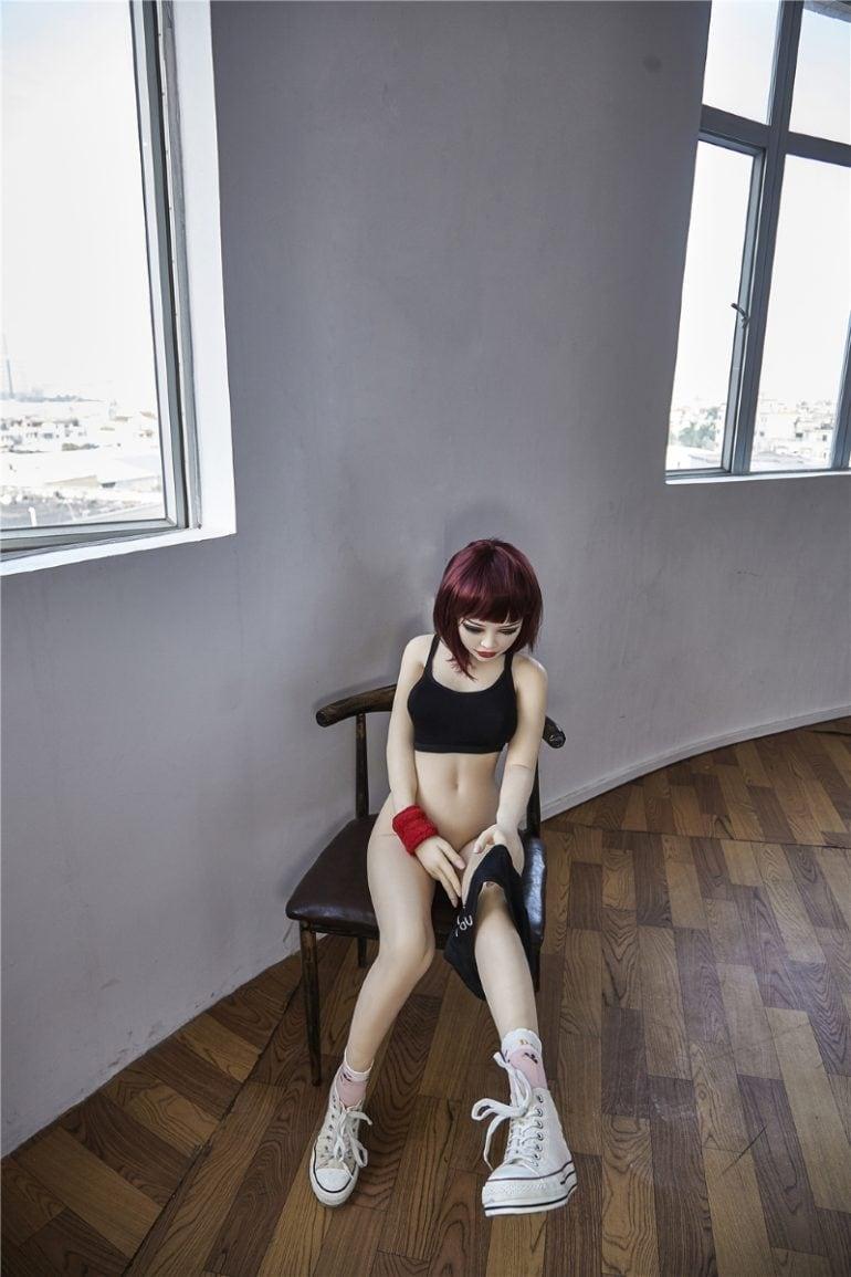 Irontech Doll 145 cm B-Cup 5 élethű szexbaba