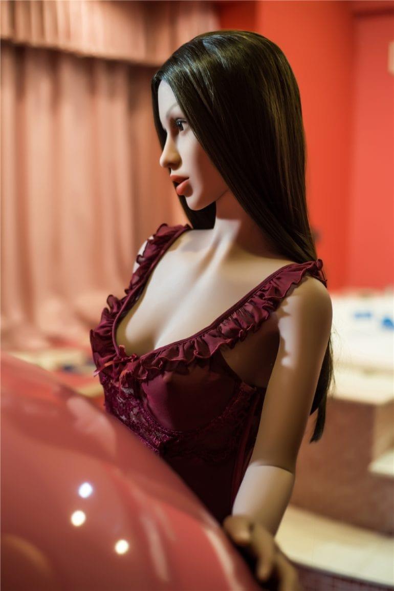 Irontech Doll 155 cm A-Cup 3 élethű szexbaba