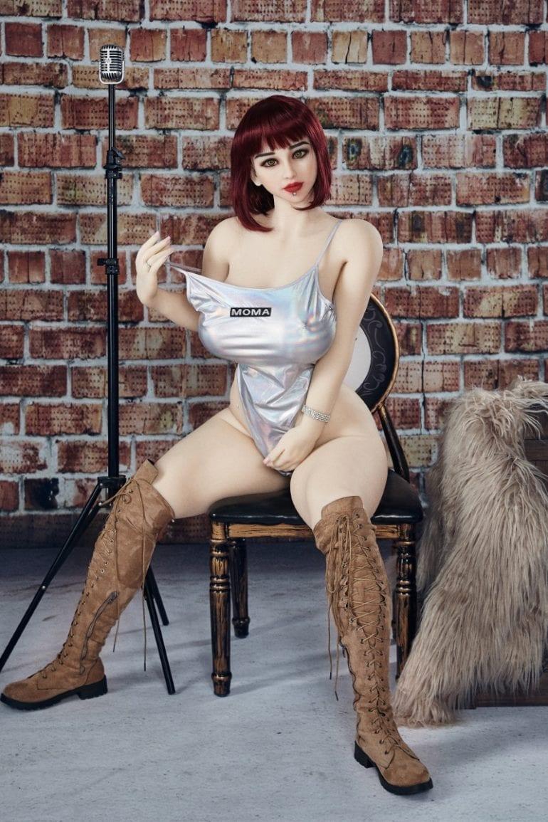Irontech Doll 158 cm H-Cup 9 élethű szexbaba