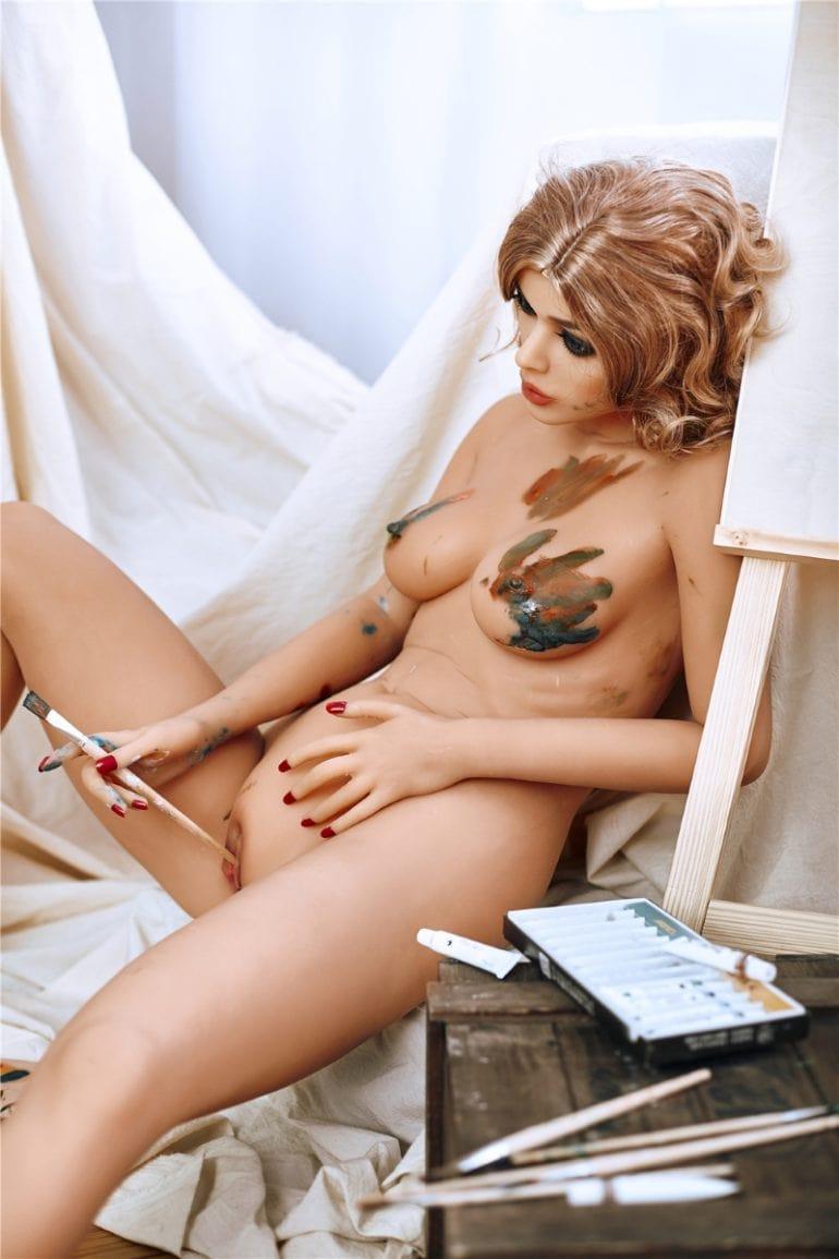 Irontech Doll 163 cm B-Cup élethű szexbaba