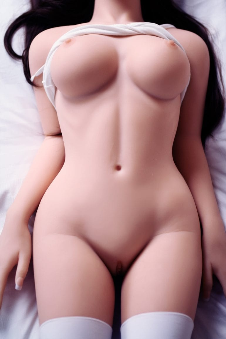 JY Doll DEMO 140 cm A-Cup 2 élethű szexbaba