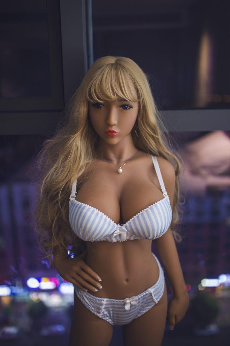 JY Doll 140 cm D-Cup 4 élethű szexbaba