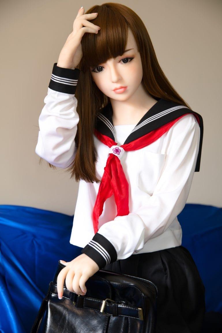 JY Doll 148 cm A-Cup 3 élethű szexbaba