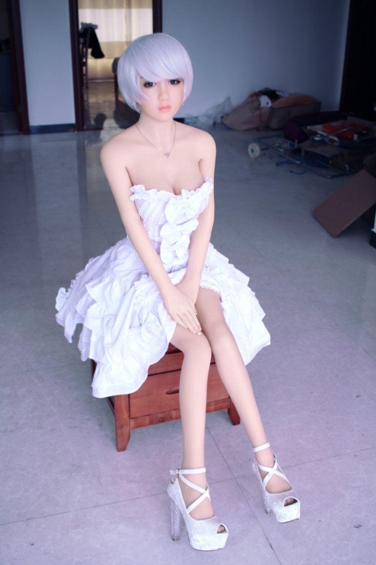 JY Doll 148 cm F-Cup élethű szexbaba