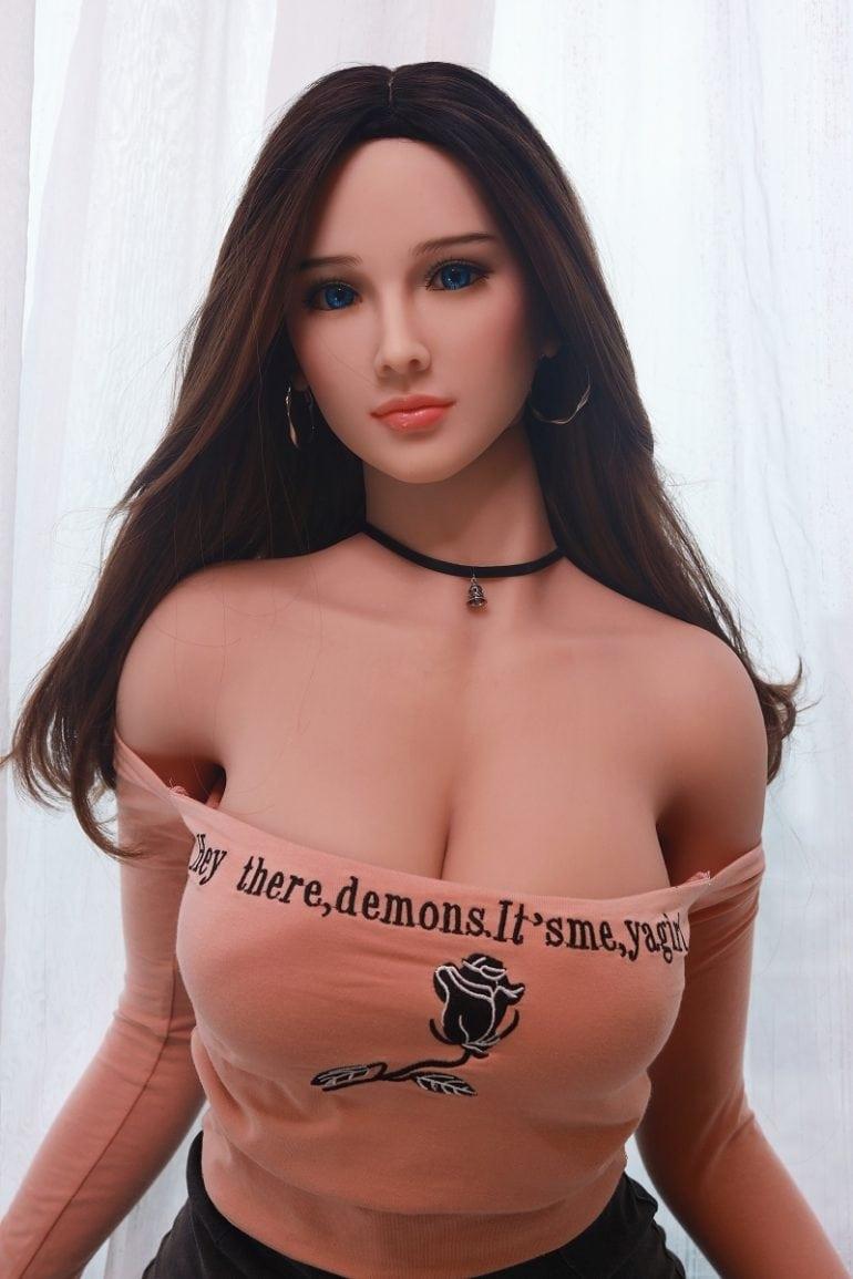 JY Doll 157 cm H-Cup 2 élethű szexbaba