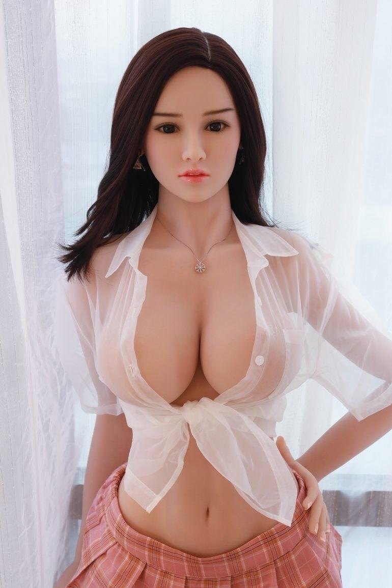 JY Doll 157 cm H-Cup 3 élethű szexbaba