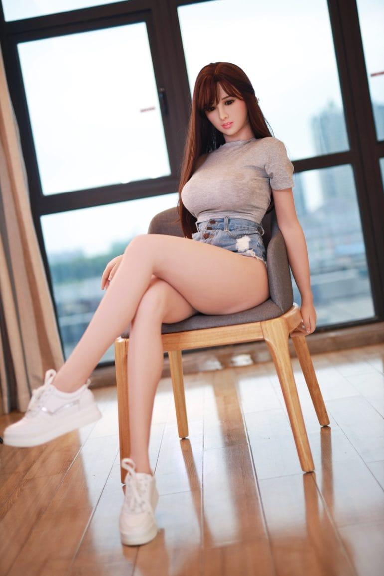 JY Doll 157 cm H-Cup élethű szexbaba