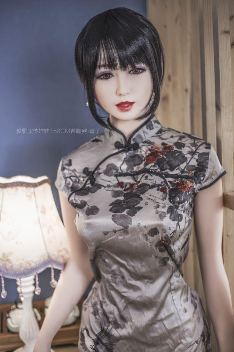 JY Doll 158 cm B-Cup 2 élethű szexbaba