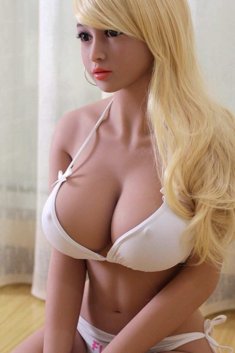 JY Doll 158 cm H-Cup 2 élethű szexbaba