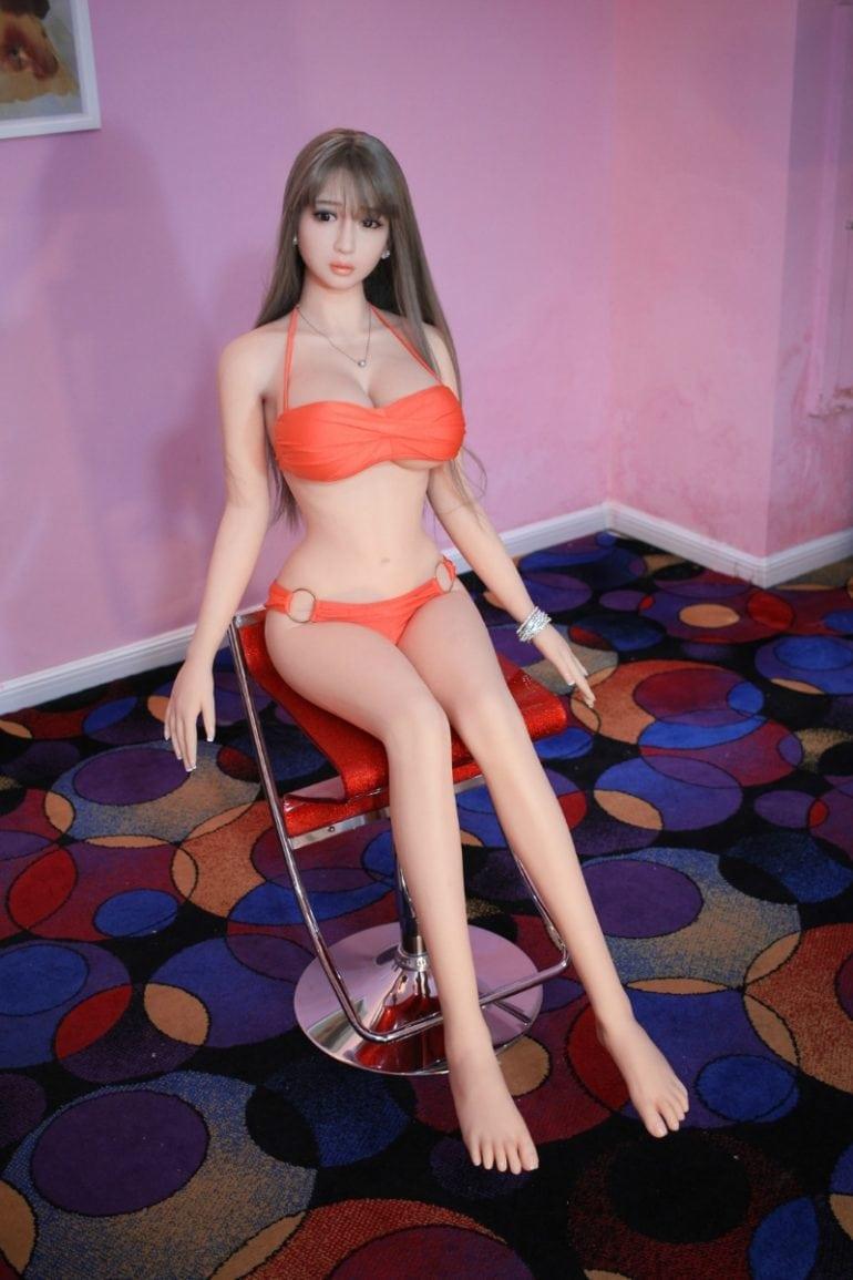 JY Doll 158 cm H-Cup 3 élethű szexbaba