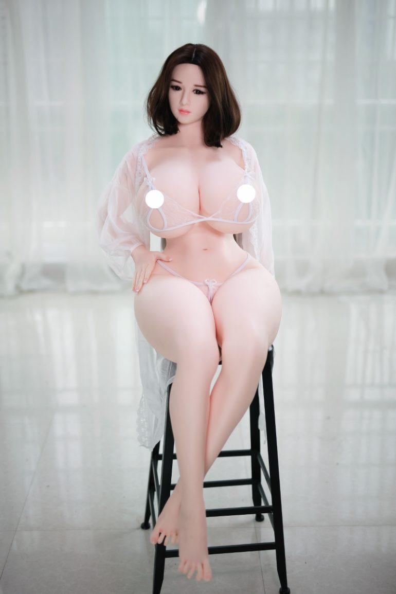 JY Doll 159 cm H-Cup 3 élethű szexbaba