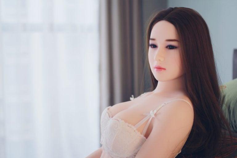 JY Doll 160 cm C-Cup 6 élethű szexbaba