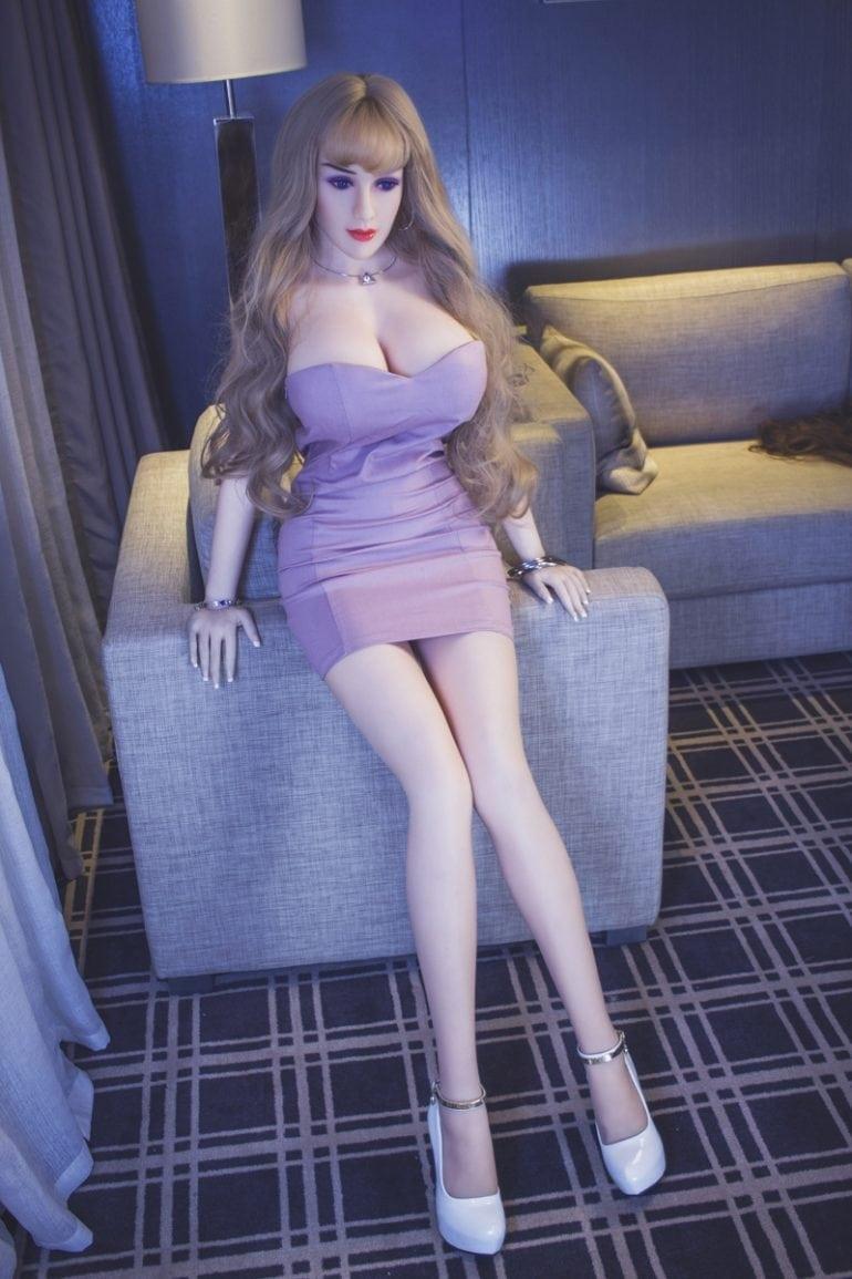 JY Doll 163 cm H-Cup 2 élethű szexbaba