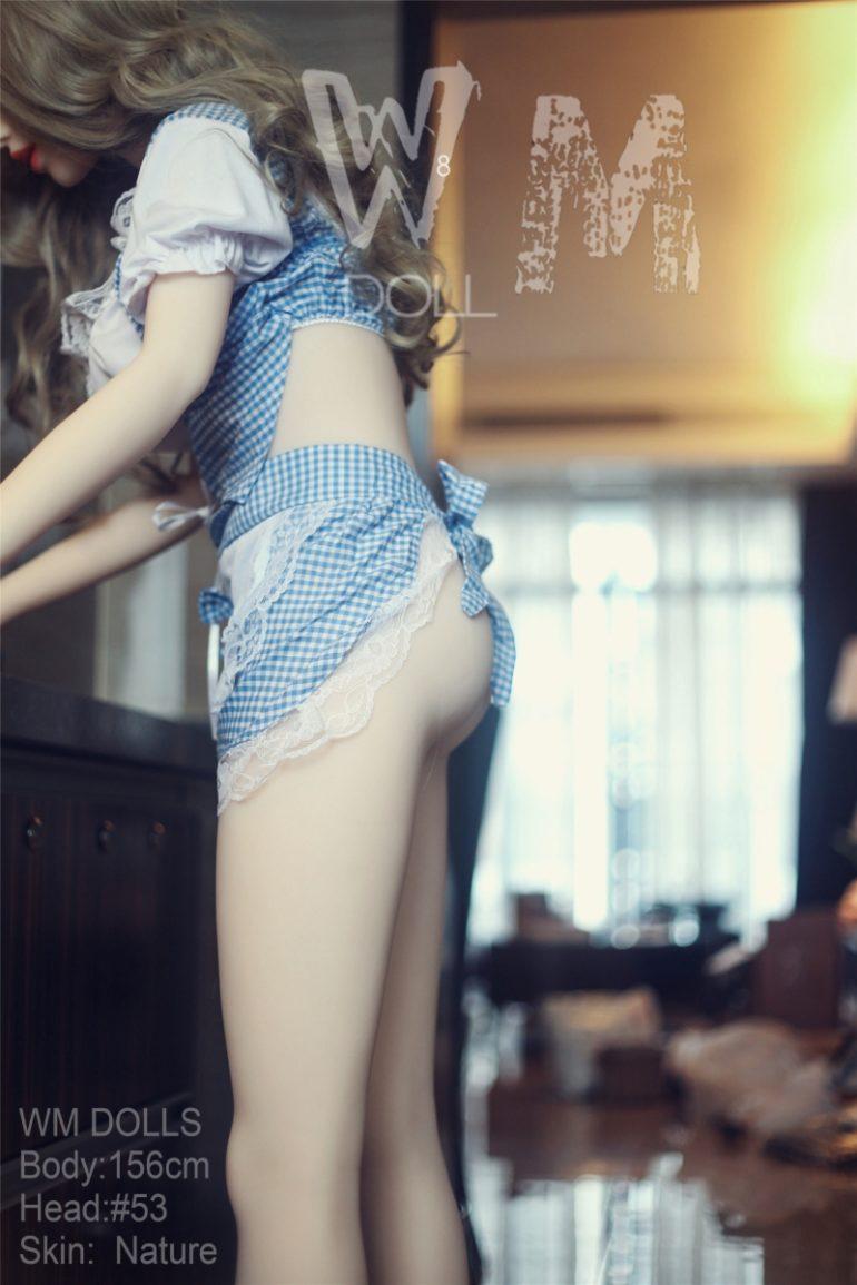 WM Doll 156 cm C-Cup 3 élethű szexbaba