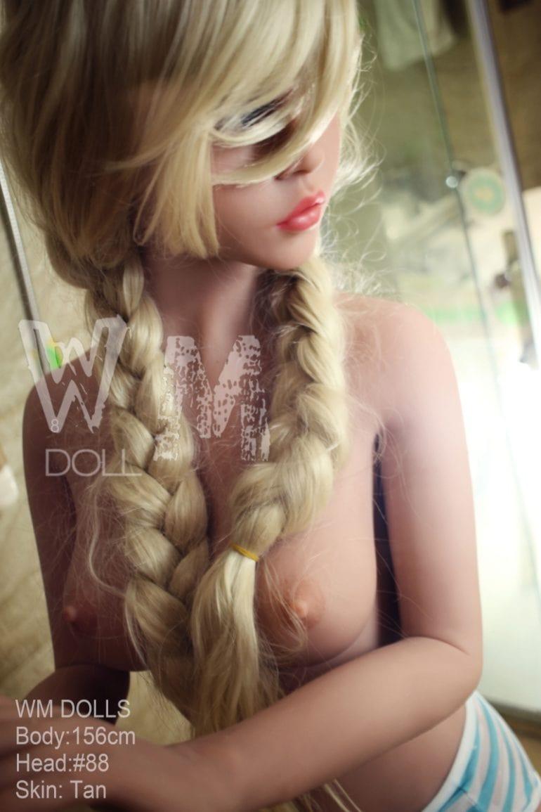 WM Doll 156 cm C-Cup 4 élethű szexbaba