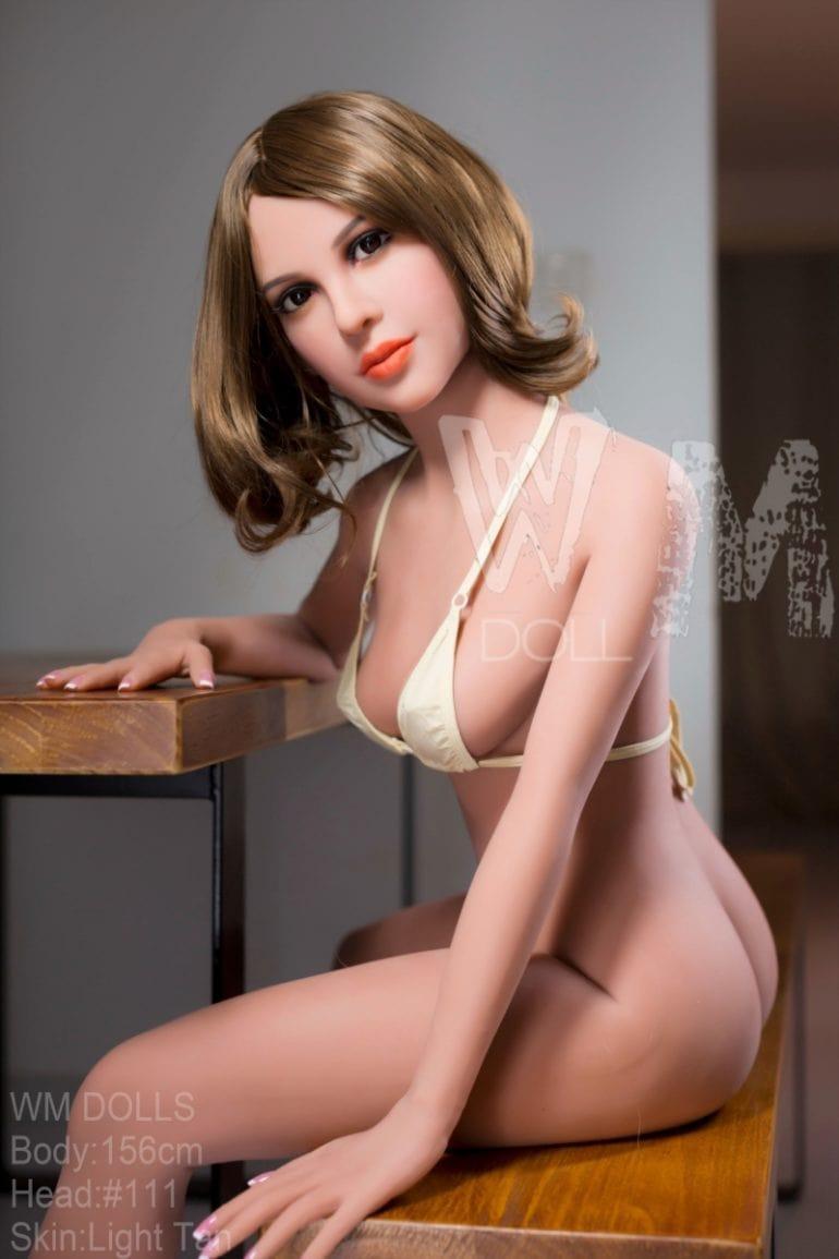 WM Doll 156 cm C-Cup 5 élethű szexbaba