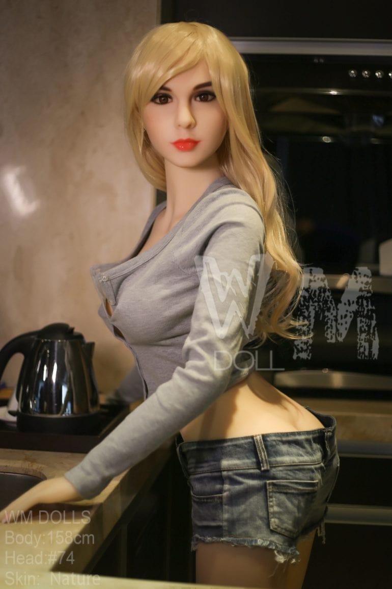 WM Doll 158 cm D-Cup élethű szexbaba