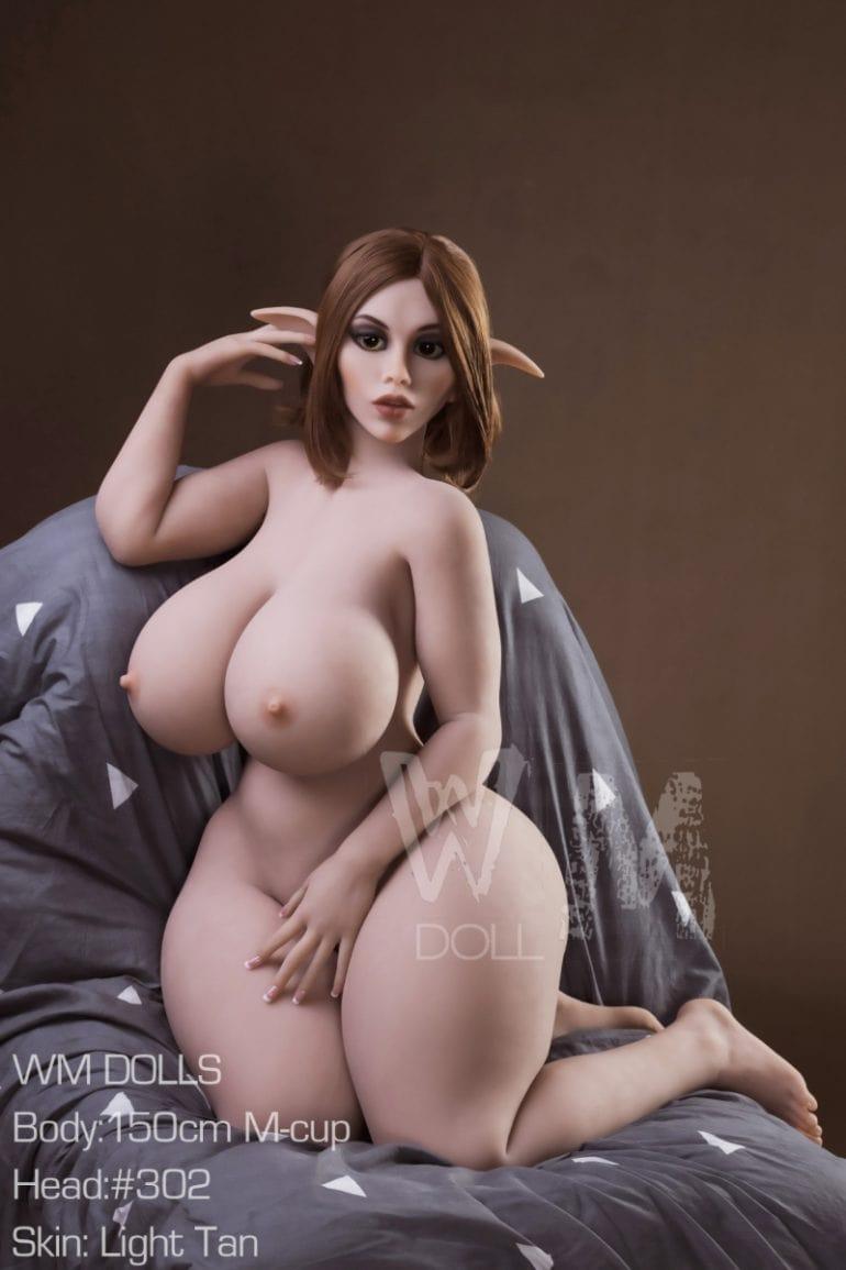 WM Doll 150 cm M-Cup 6 élethű szexbaba