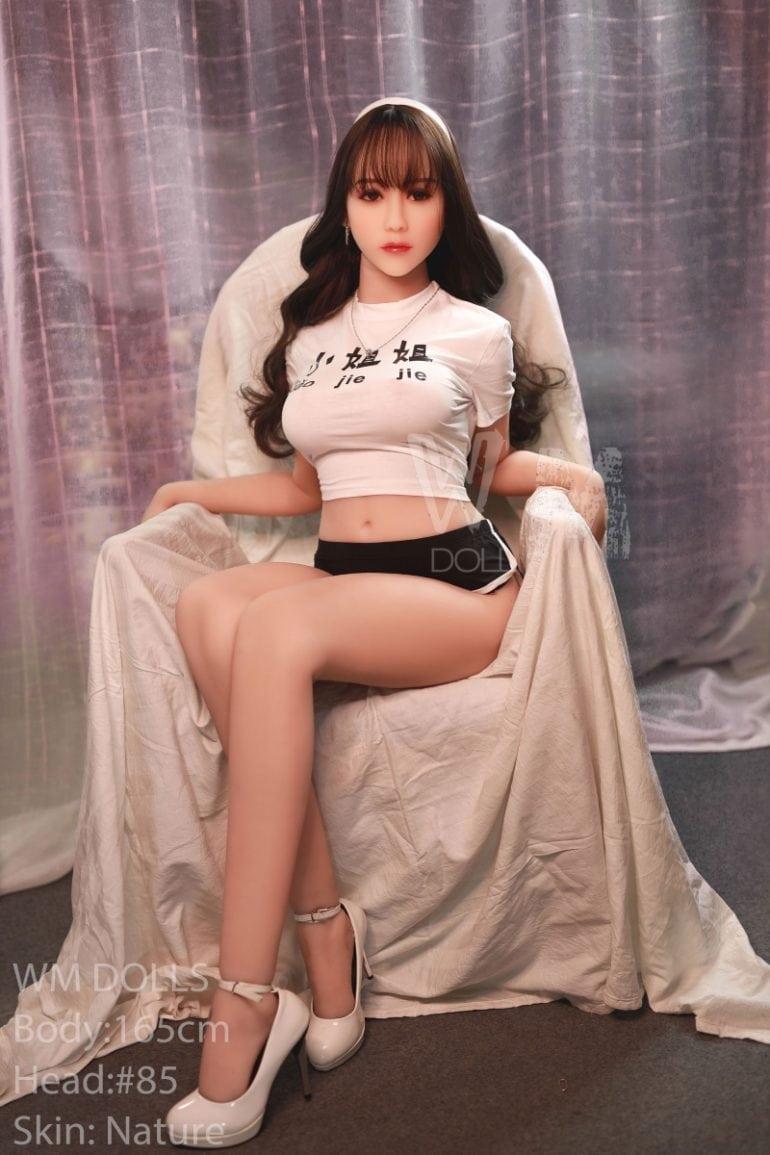WM Doll 165 cm D-Cup 7 élethű szexbaba
